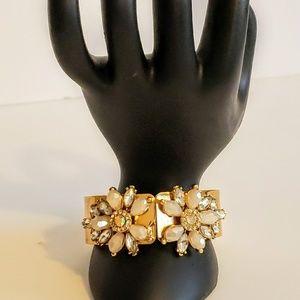 INC gold bangle bracelet